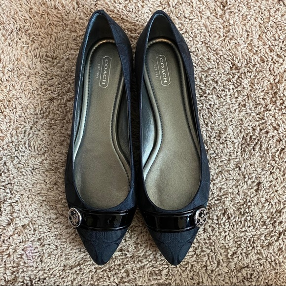 Coach Onida pointed flats